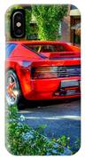 Ferrari From Afar IPhone Case