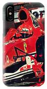Ferrari - Michael Schumacher  IPhone Case
