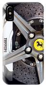 Ferrari Wheel Op 121915 IPhone Case
