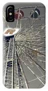 Ferris Wheel 5 IPhone Case