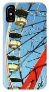 Ferris Wheel Closeup IPhone Case