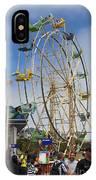 Ferris Wheel Santa Cruz Boardwalk IPhone Case