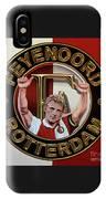 Feyenoord Rotterdam Painting IPhone Case