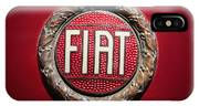 Fiat Emblem -1621c IPhone X Case