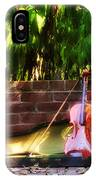 Fiddle On The Garden Wall IPhone Case