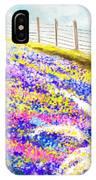 Field Of Blue - Bluebonnet Art IPhone Case