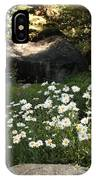 Field Of Daisies In Tahoe IPhone Case