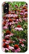 Field Of Echinacea IPhone Case