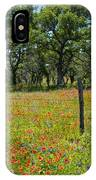 Field Of Fire IPhone Case