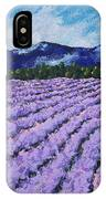 Field Of Lavender IPhone Case