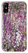Field Of Multi-colored Flowers IPhone Case