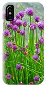 Field Of Onions  IPhone Case