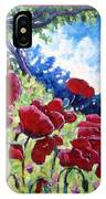 Field Of Poppies 02 IPhone Case