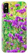 Field Of Purple Flowers IPhone Case