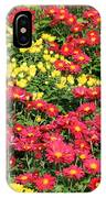 Field Of Red And Yellow Flowers IPhone Case