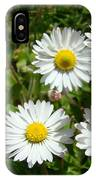 Field Of White Daisy Flowers Art Prints Summer IPhone Case