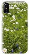 Field Of White Poppies IPhone Case