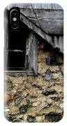 Field Stone Barn IPhone Case