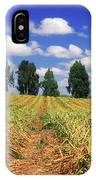 Fields Of Chopped Flowers At Nir Banim IPhone Case
