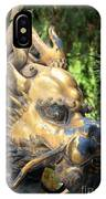 Fierce Foo Dog Face IPhone Case