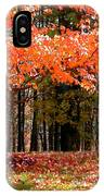 Fiery Leaves IPhone Case