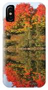 Fiery Reflections IPhone Case
