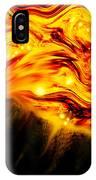 Fiery Sun Erupting With M1.7 Class Solar Flare IPhone Case
