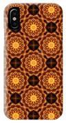 Fiery Sunflower Wallpaper IPhone Case