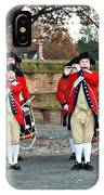 Fifes And Drums IPhone Case