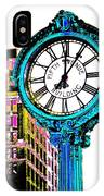 Fifth Avenue Building Clock New York  IPhone Case