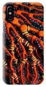 Fiji Red Seafan IPhone Case