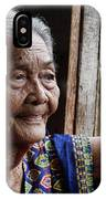 Filipino Lola - Image Number Fourteen  IPhone Case