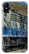 Fillmore And Western Railway Christmas Train 3 IPhone Case