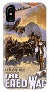 Film: The Covered Wagon IPhone Case