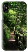 Finding The Right Path IPhone Case