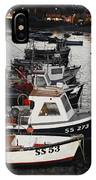 Fine Art- Boats St Ives Harbour IPhone Case