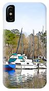 Fine Day To Sail - Illustration Style  IPhone Case