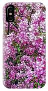 Fine Wine Cafe Apple Blossoms IPhone Case