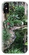 Fine Wine Cafe Beautiful Garden IPhone Case