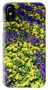Fine Wine Cafe Colorful Garden IPhone Case