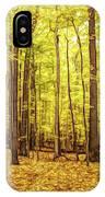 Fine Wine Cafe Golden Woods IPhone Case