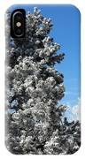 Fir Full Of Ice IPhone Case