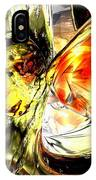 Fire And Desire Abstract IPhone Case