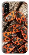 Fire Bugs IPhone Case