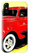 Fire Engine Ok IPhone Case