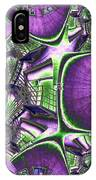 Fire Escape Fractal IPhone Case