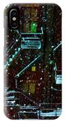 Fire Escapes In The Snow IPhone Case