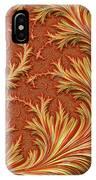 Fire Fern IPhone Case