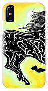 Fire Horse 3 IPhone Case