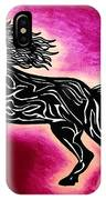 Fire Horse Blaze 4 IPhone Case